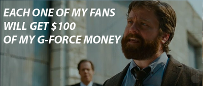 Zach Galifianakis in G-Force