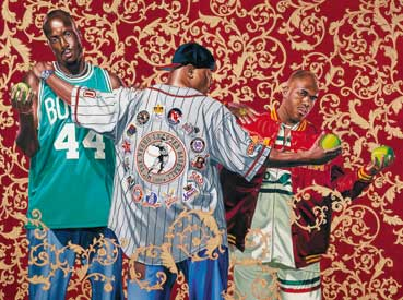 Recognize: The Three Graces by Kehinde Wiley